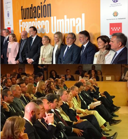"""Rajoy elogia la """"independencia de criterio"""" de Umbral y su """"generosidad implacable"""""""