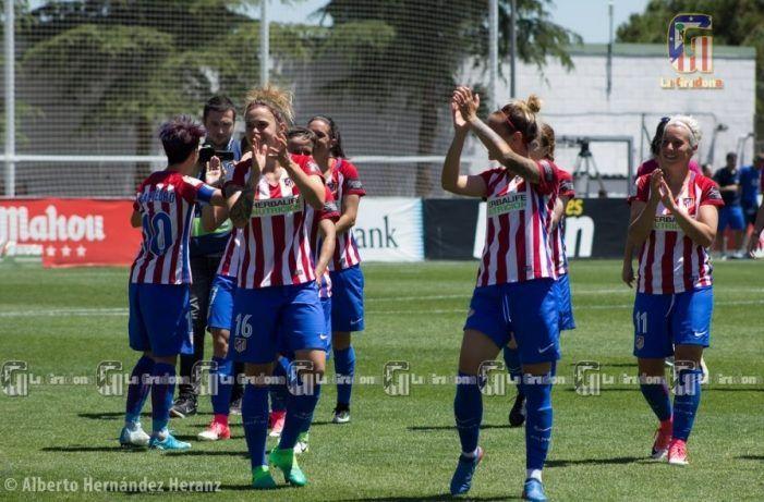 El At Madrid convierte Majadahonda en campeona de liga de fútbol femenino y ahora va a por el doblete