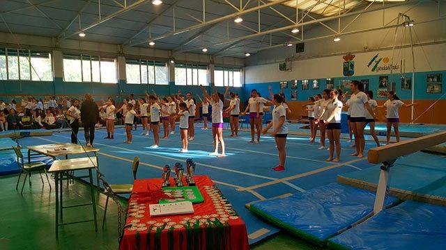 El Club Escuela Gimnasia de Majadahonda celebra su festival con más 300 participantes