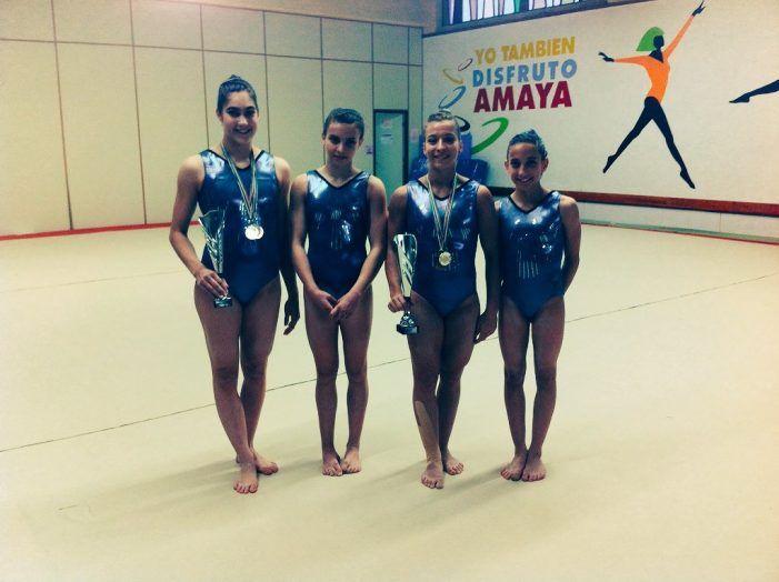 Gimnasia: Majadahonda conquista Pamplona y logra 6 metales en el Trofeo CD Amaya