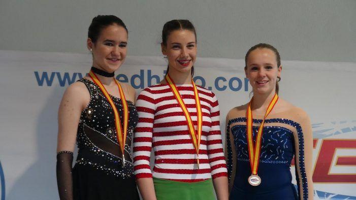 """Patinaje artístico: """"La Nevera"""" de Majadahonda logra 4 medallas en el Campeonato de España"""