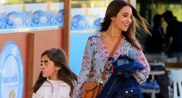 Paula Echevarría y su hija Daniella Bustamante eligen Majadahonda para almorzar
