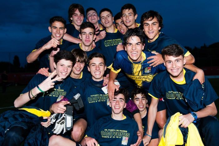 """Fútbol: Puerta Madrid (Majadahonda) supera su """"cuarta final"""" y asciende en cadete"""
