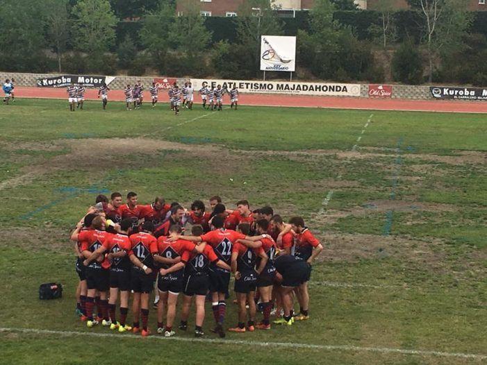 Rugby: Majadahonda un paso más cerca de la División de Honor tras vencer a CAU Madrid (33-20)