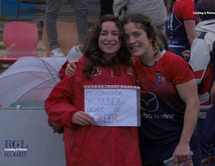Rugby Femenino: El espectacular álbum de fotos de la aciaga y lluviosa tarde en que el Olímpico derrotó al CR Majadahonda