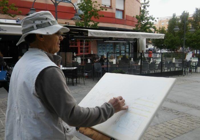 Semana del Mayor en Majadahonda: fotos y vídeo de lo mejor de su pintura, poesía y manualidades