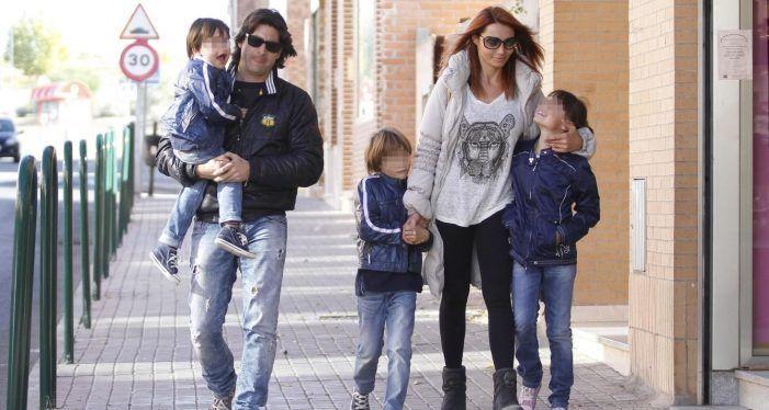 """Toño Sanchís enseña a su hijo Víctor (Rayo Majadahonda): """"no todos los niños tienen las botas de Ronaldo"""""""