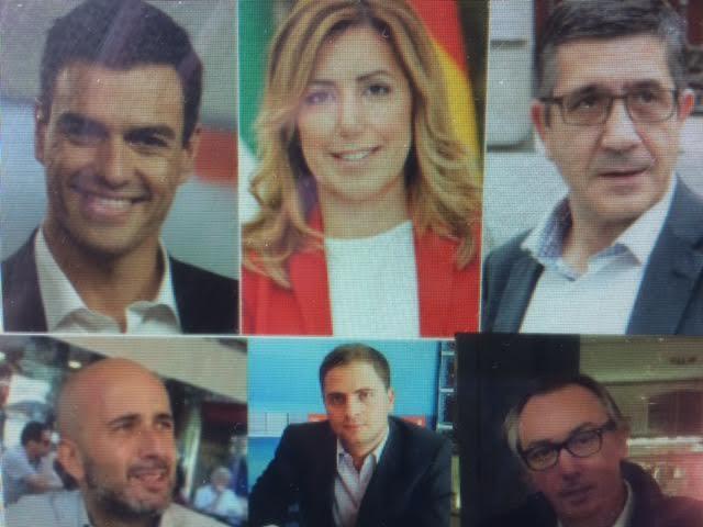 Pedro Sánchez gana las primarias del PSOE pero Susana Díaz vence en Majadahonda por 1 voto