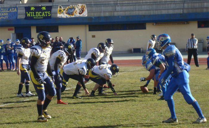 Fútbol americano: varios lesionados tras la victoria del Wildcats Majadahonda sobre el Camioneros de Coslada 78-59