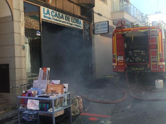 """El incendio de la """"Casa de Loira"""" costó 132.000 € al Ayuntamiento de Majadahonda y los quiere recuperar"""