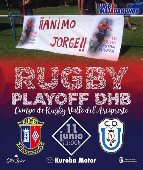 """Rugby: """"Granada Hoy"""" contempla la remontada de CR Majadahonda """"si el partido se descontrola"""""""