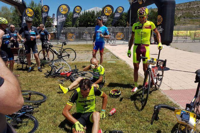 La espectacular resistencia al calor del ciclista Carlos Caravias (Majadahonda) gana la XXVII edición de la Quebrantahuesos