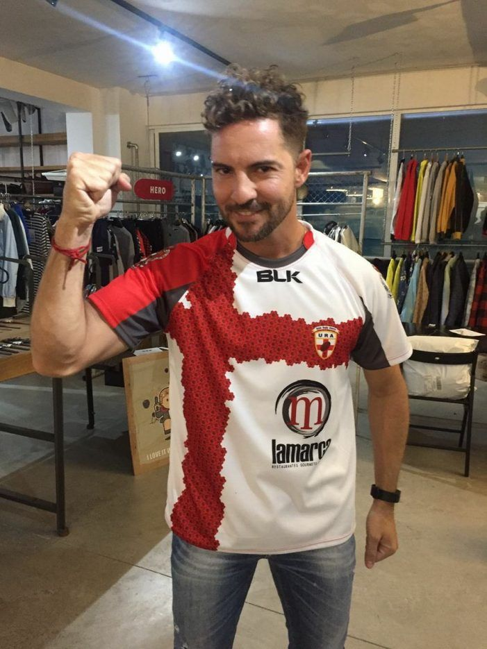 """Rugby: un """"valiente"""" CR Majadahonda gana por """"bulerías"""" en Almería pero no puede con David Bisbal"""