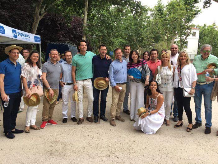 Alberto San Juan reúne al PP de Majadahonda en un acto con Cifuentes y Cospedal