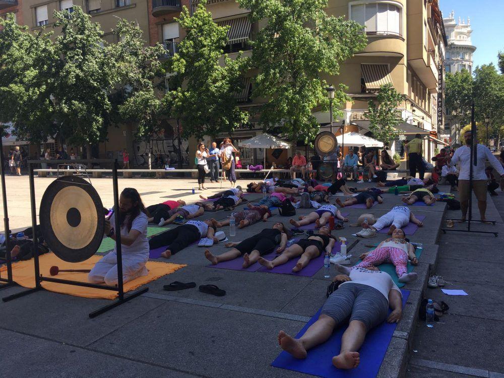 """Majadahonda celebra el Día del Yoga con """"baño de sonido"""" gratis y la Embajada India"""