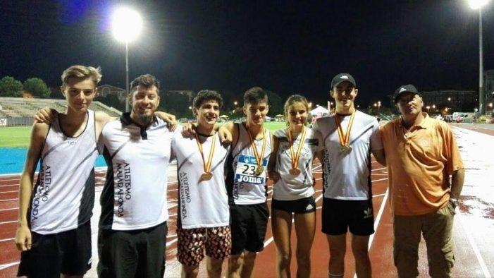 Atletismo: EA Majadahonda se trae 5 metales del Campeonato de España y los cadetes aspiran a la gloria en Murcia