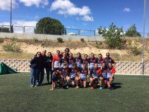 Rugby femenino: Majadahonda busca triunfar en la Copa de la Reina y seguir aumentando afición