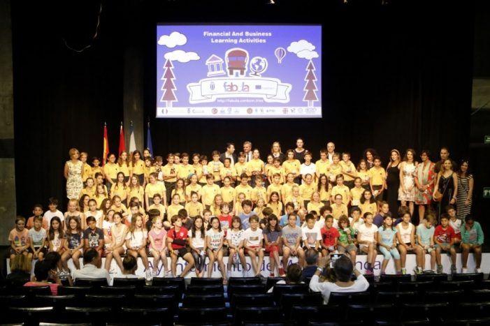 94 estudiantes de Majadahonda aprenden emprendimiento y educación financiera con Fábula
