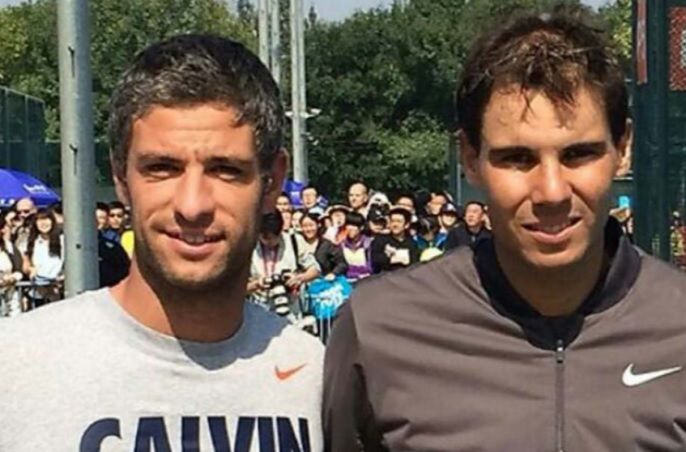 """Tenis: Franco Livi, monitor en CIT Majadahonda y """"sparring de gigantes"""" en Roland Garros"""
