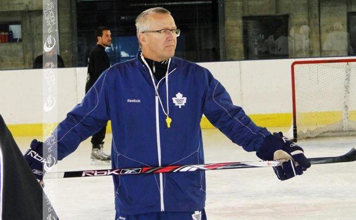 La Nevera (Majadahonda) acoge un campus para formar a los mejores porteros de hockey hielo
