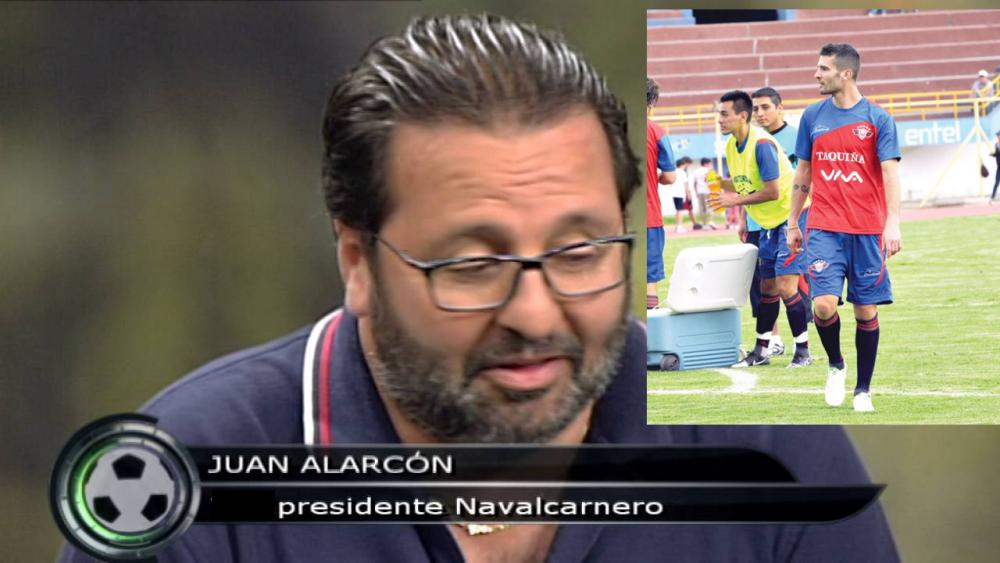 """""""Culebrón"""" Berodia: futbolista y Navalcarnero cruzan comunicados porque Majadahonda """"se lleva al ídolo"""""""