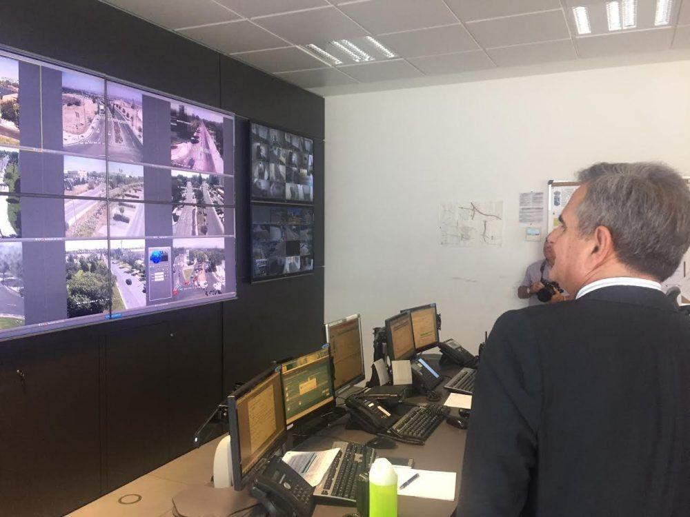 30 cámaras y pantallas de tecnología LED, 4K y antirreflejos vigilan Majadahonda