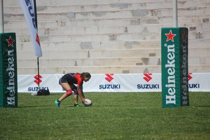 Rugby Femenino: CR Majadahonda resuelve con triple victoria su lucha por la Copa