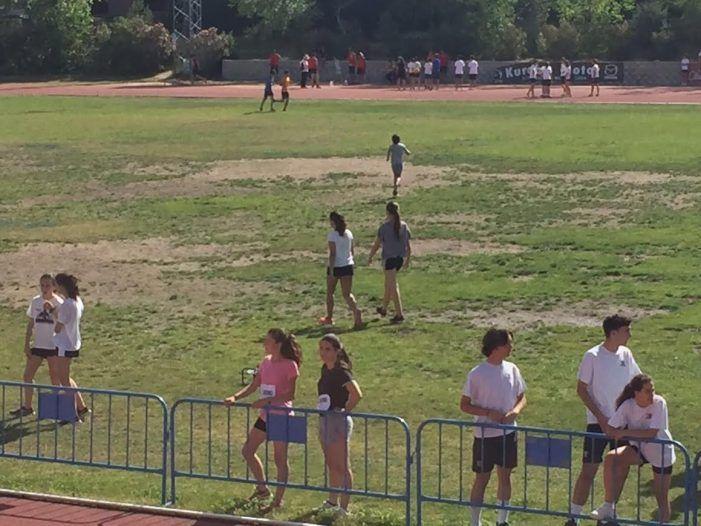 PSOE denuncia el mal estado de conservación del campo de rugby de Majadahonda