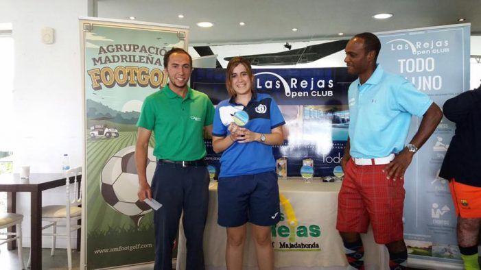 Fútgolf: Didier Anelka gana la 3ª jornada en el Club Las Rejas Majadahonda con Alberto de Benito pisándole los talones