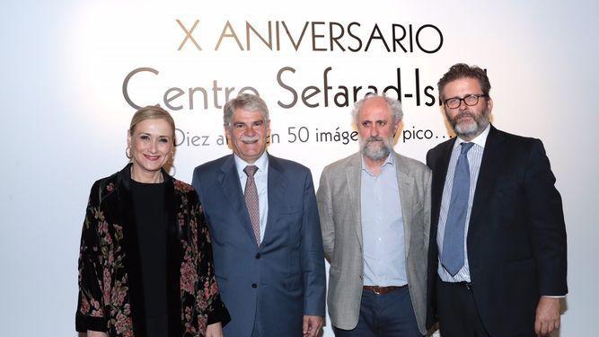 Cristina Cifuentes destaca la contribución de Majadahonda a la cultura judía