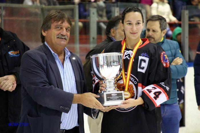 Las campeonas de Hockey Hielo, pregoneras de las Fiestas de Majadahonda 2017