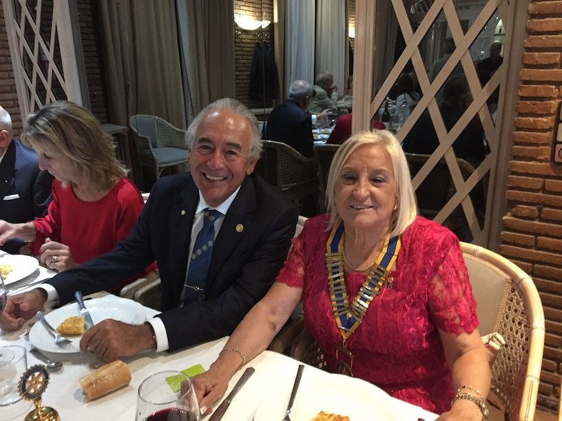 Rotary Majadahonda elige nuevo presidente: Alfredo Montes Niño sustituye a Esperanza Aliaga