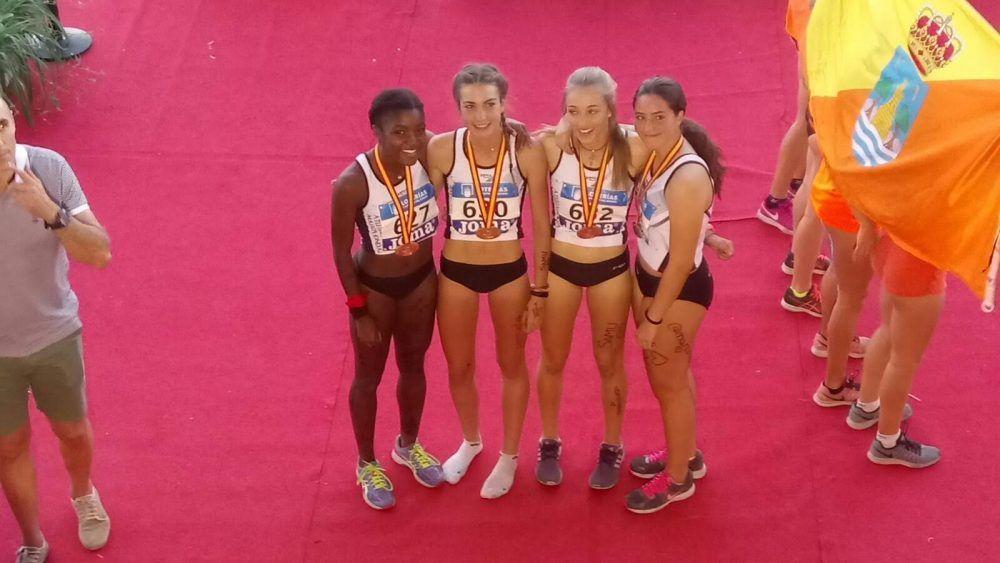Atletismo: EA Majadahonda se cuelga cinco medallas en el Campeonato de España celebrado en Murcia