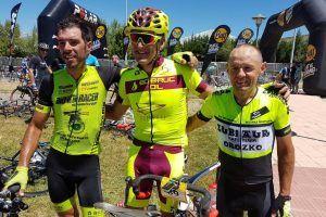 Caravias (Club Ciclista Majadahonda) pasa a la historia del ciclismo con 47 años junto a Indurain, Belda y Olano
