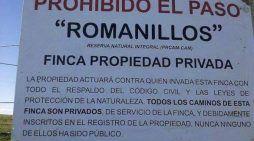 La Casa de Alba replica a Benavides: los caminos de Romanillos son privados por sentencia judicial