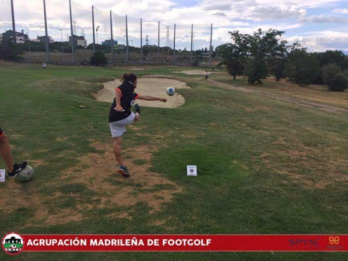 """""""Las Rejas"""" Majadahonda celebra la 3ª jornada de """"footgolf"""" con Didier Anelka como """"estrella"""""""