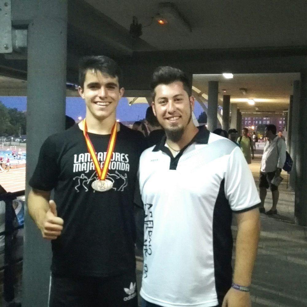 El lanzador de peso Miguel Gómez (EA Majadahonda) viaja a Hungría con la selección de España