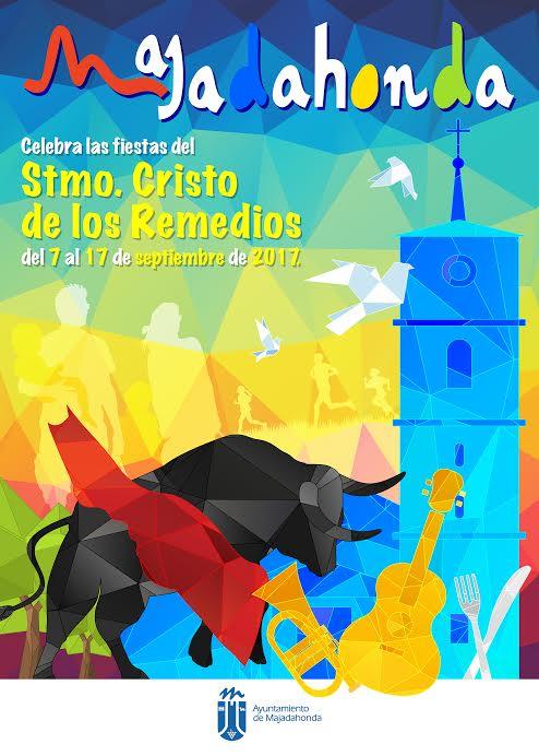 El cartel ganador de las Fiestas Majadahonda 2017: música, toros, gastronomía y tradiciones