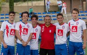 Fichajes Fútbol Majadahonda (Juveniles): Gaby Pont, Acho, Héctor, Alex y Tala, protagonistas