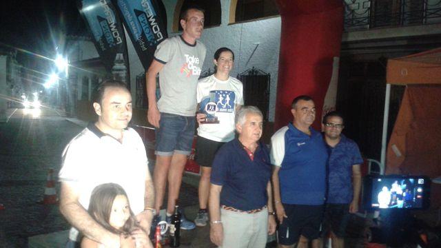 """Atletismo: la majariega Alicia Sánchez gana la """"nocturna"""" de Estremera y bate record"""