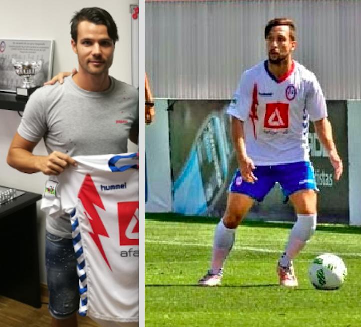 Fichajes: Portuga (Cerceda), Carles Coto (Rayo Majadahonda) y Oscar Mena (Luján)