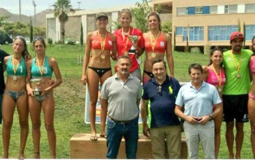 Nuevo éxito del Voley Playa Majadahonda: Tania y Clara, campeonas de España sub 19 en Lorca