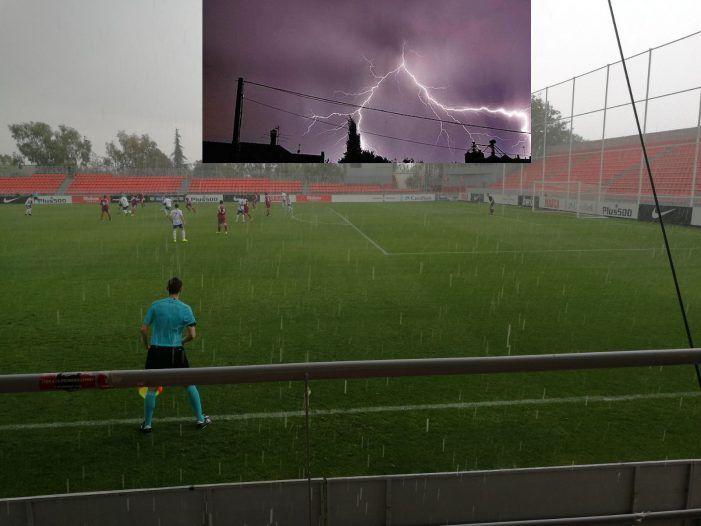 La tormenta de Rayos en Majadahonda llegó hasta Valladolid (6-2)