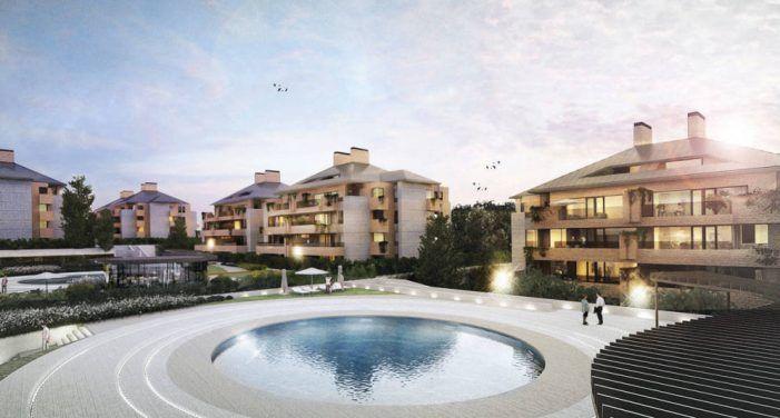 Las nuevas viviendas de lujo en Majadahonda salen a la venta con lista de espera