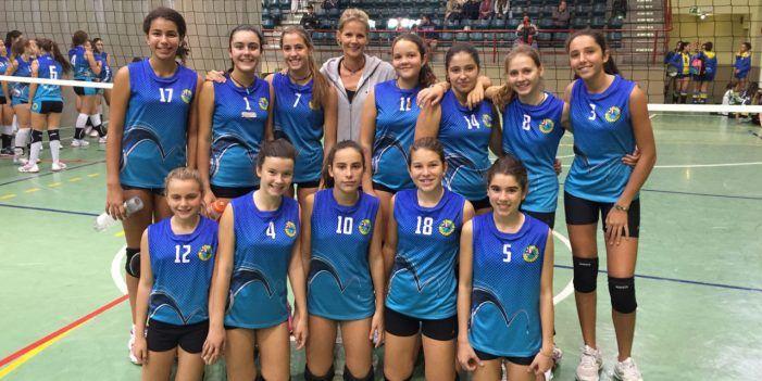 Voley Playa Femenino: las infantiles del CV Majadahonda, séptimas de España en Lorca