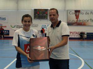 Marta Rodríguez, la goleadora de futbol sala del Majadahonda, ficha por el Florencia de Italia