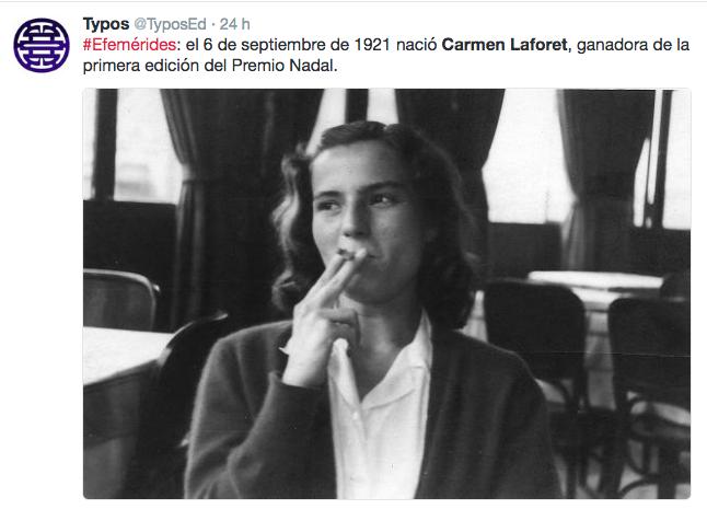 España ya conmemoró el 95º Aniversario de Carmen Laforet ante la indiferencia de Majadahonda