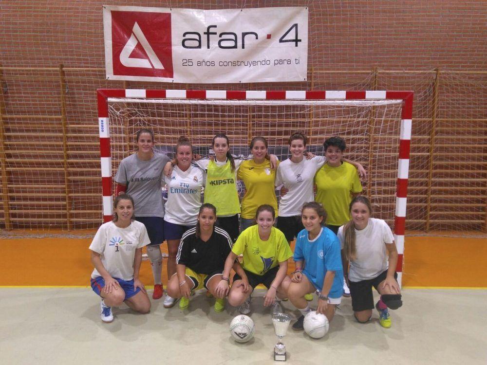 Fútbol sala femenino: Majadahonda Afar 4 arranca en 1ª y debuta en 2ª  tras ganar su Torneo
