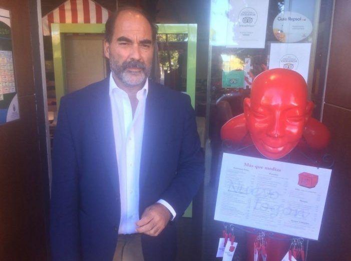 """Casto Gallardo, portavoz del Rayo Majadahonda: """"que la Oposición dé la cara y los nombres"""""""