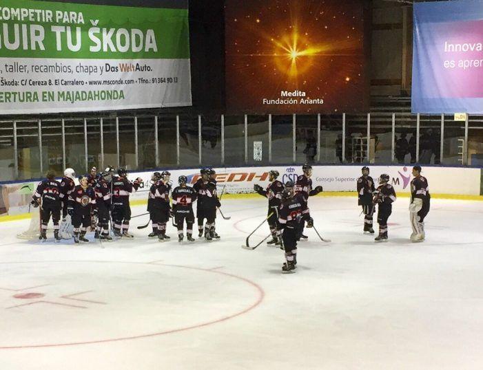 Hockey Hielo: Triplete de victorias para el SAD Majadahonda en el primer partido de la temporada
